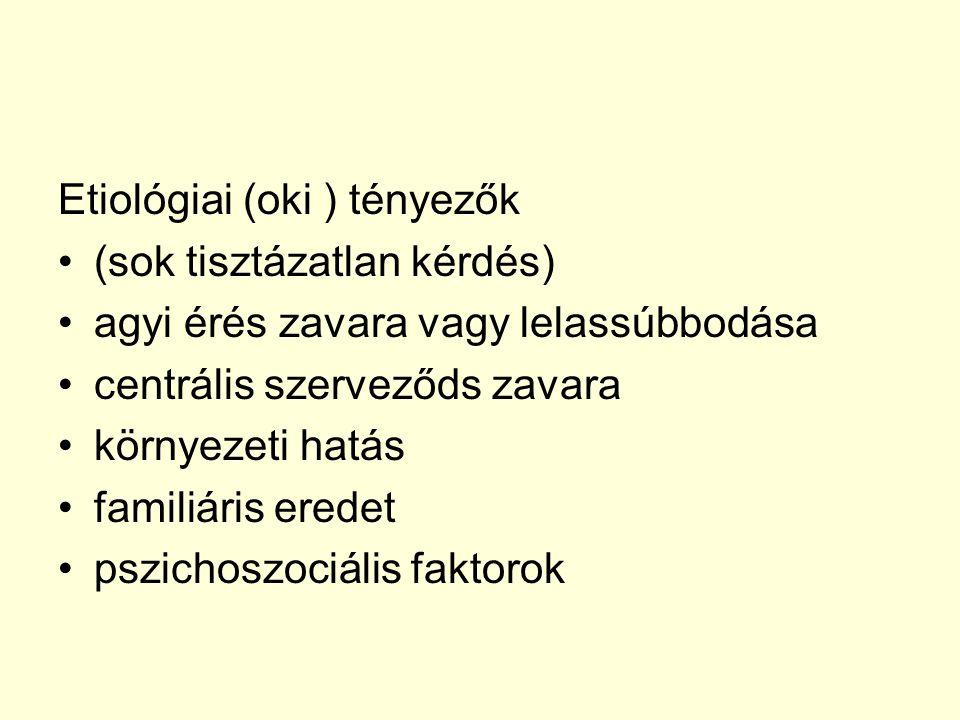 Etiológiai (oki ) tényezők