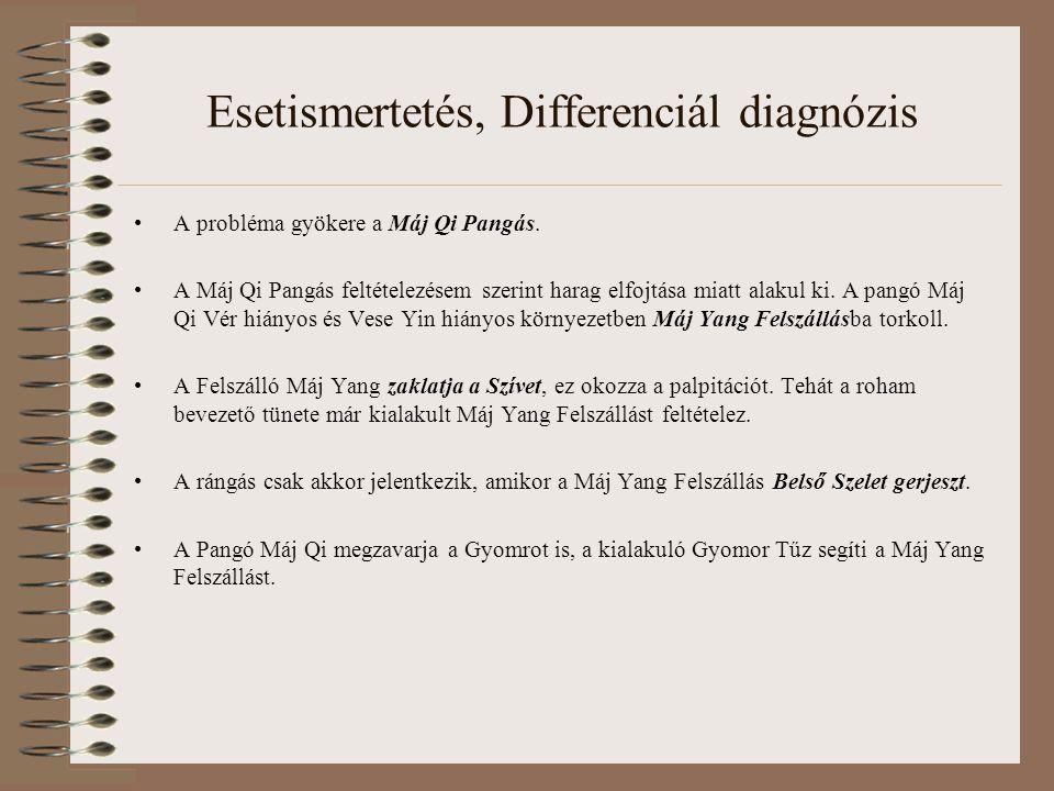 Esetismertetés, Differenciál diagnózis