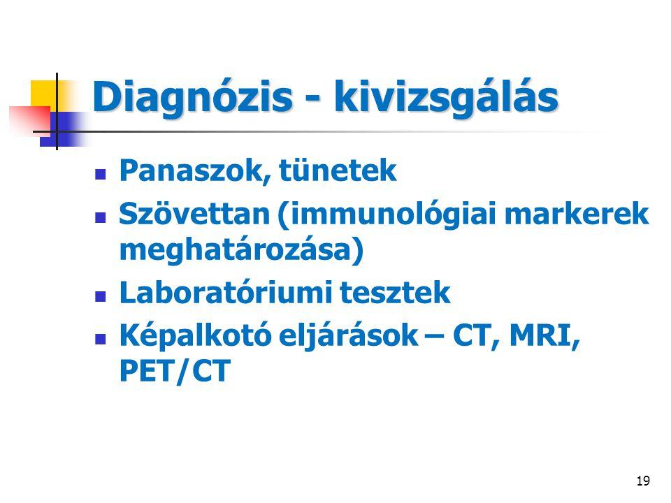Diagnózis - kivizsgálás