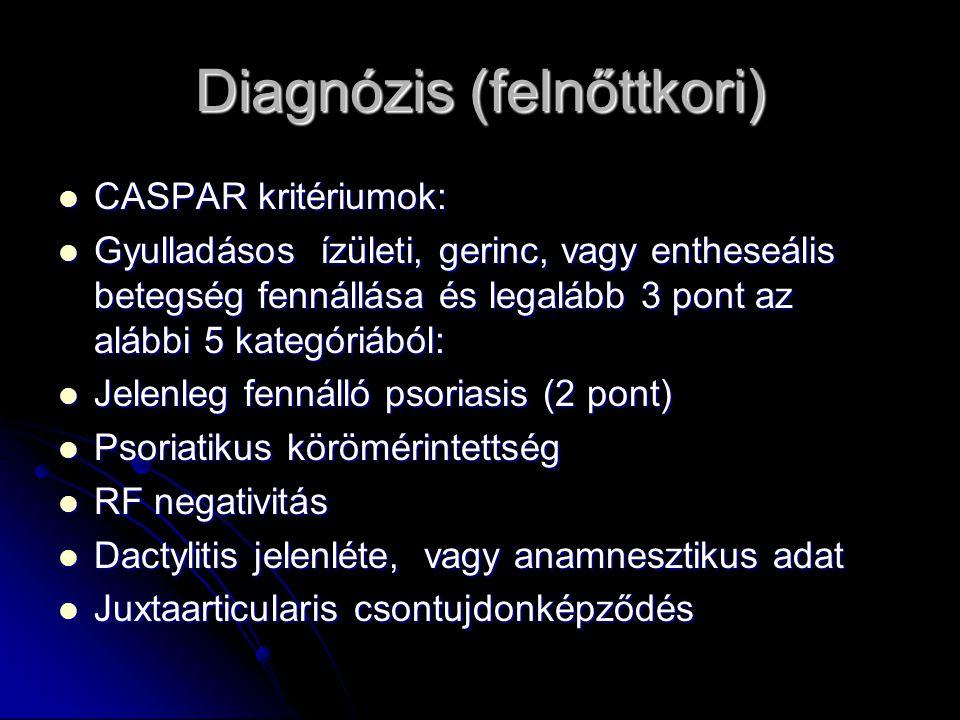 Diagnózis (felnőttkori)