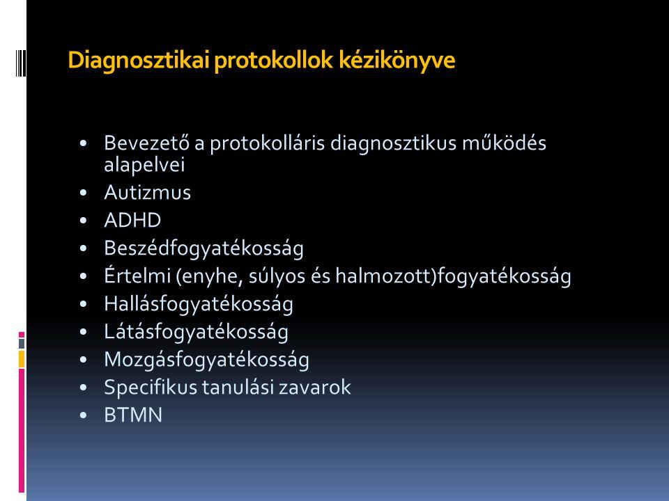 Diagnosztikai protokollok kézikönyve