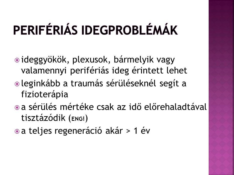 Perifériás idegproblémák