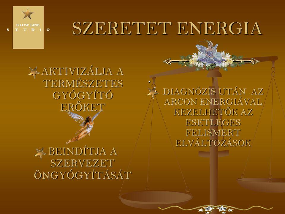 SZERETET ENERGIA AKTIVIZÁLJA A TERMÉSZETES GYÓGYÍTÓ ERŐKET .