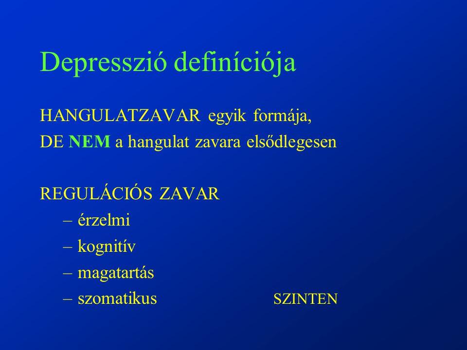 Depresszió definíciója