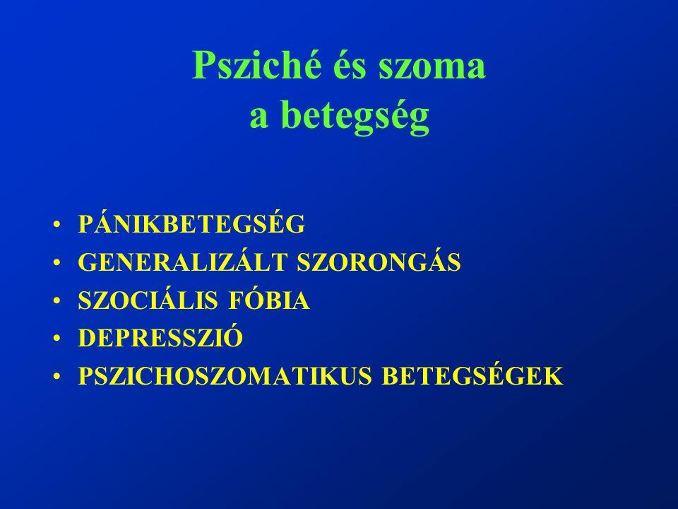 Psziché és szoma a betegség