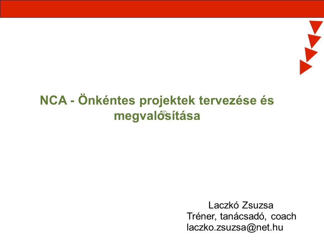 NCA - Önkéntes projektek tervezése és megvalósítása
