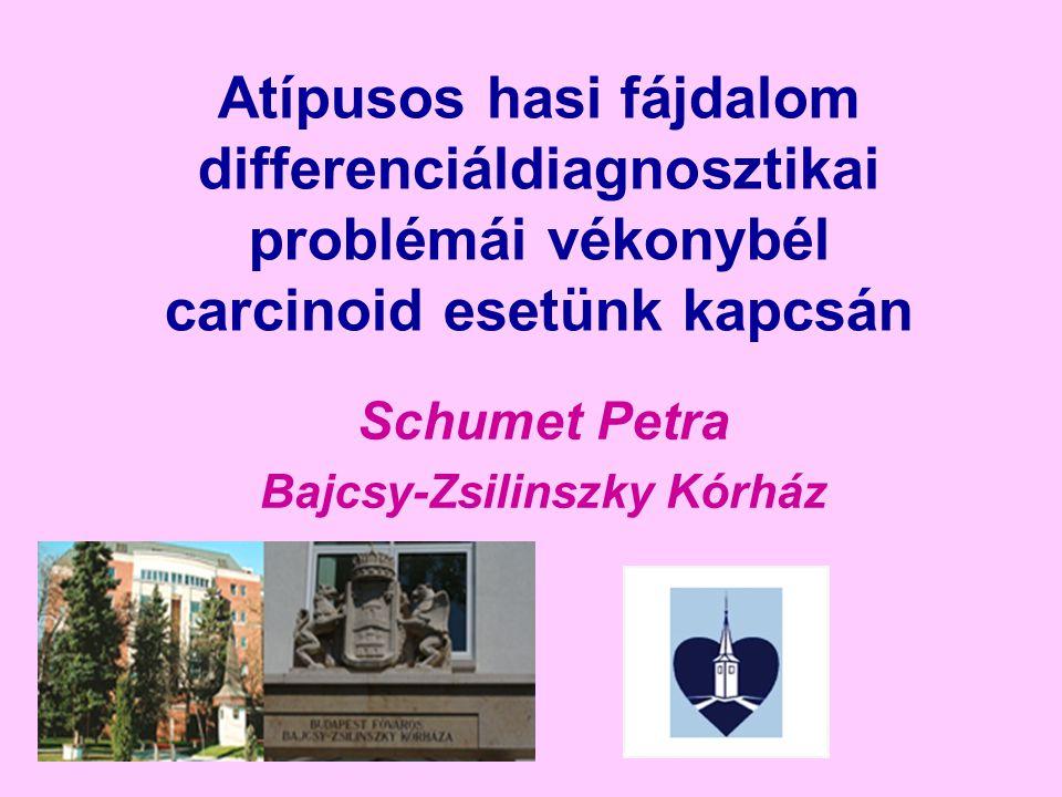Schumet Petra Bajcsy-Zsilinszky Kórház
