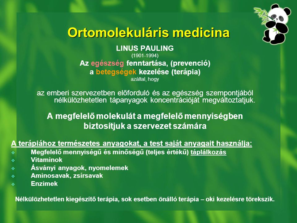 Ortomolekuláris medicina
