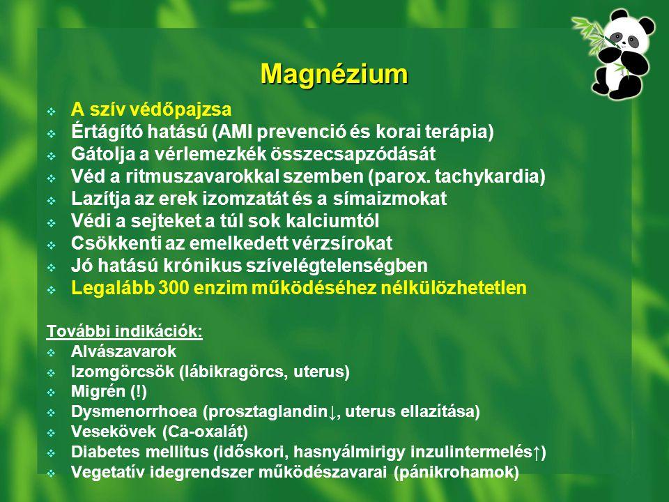 Magnézium A szív védőpajzsa
