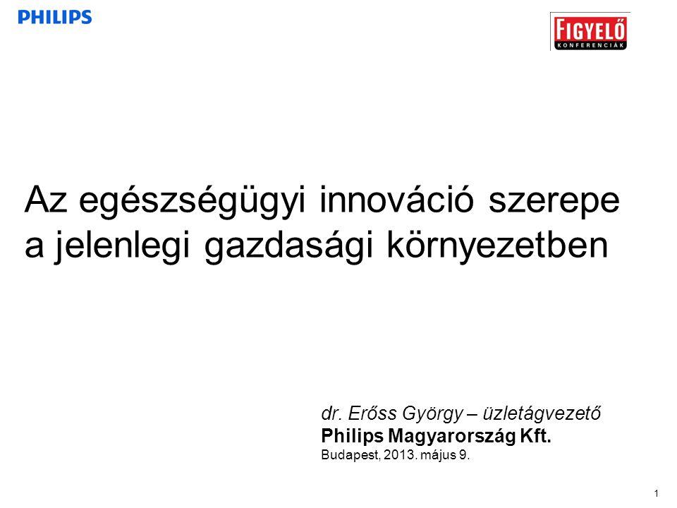 Az egészségügyi innováció szerepe a jelenlegi gazdasági környezetben