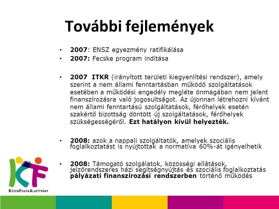 További fejlemények 2007: ENSZ egyezmény ratifikálása