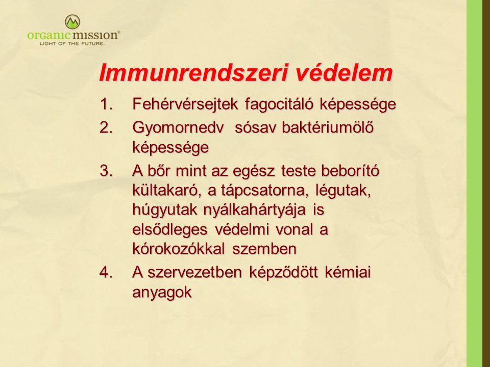 Immunrendszeri védelem
