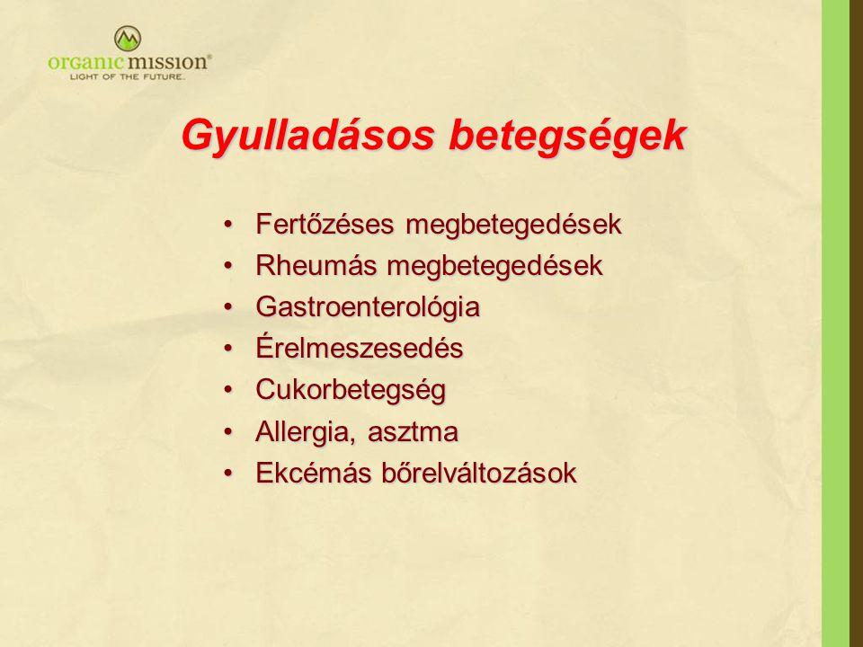 Gyulladásos betegségek