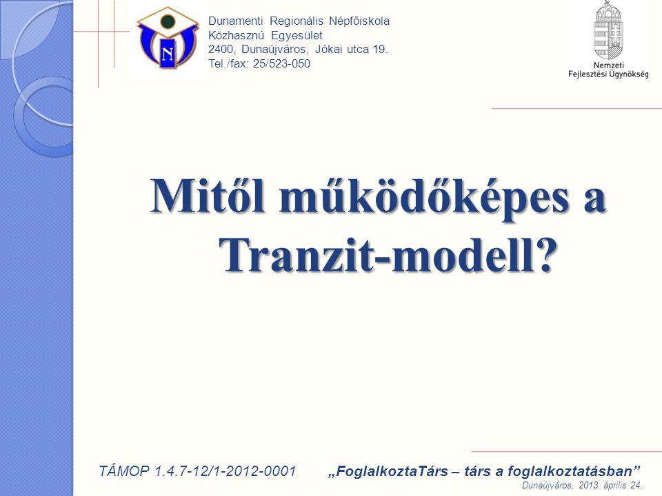 Mitől működőképes a Tranzit-modell