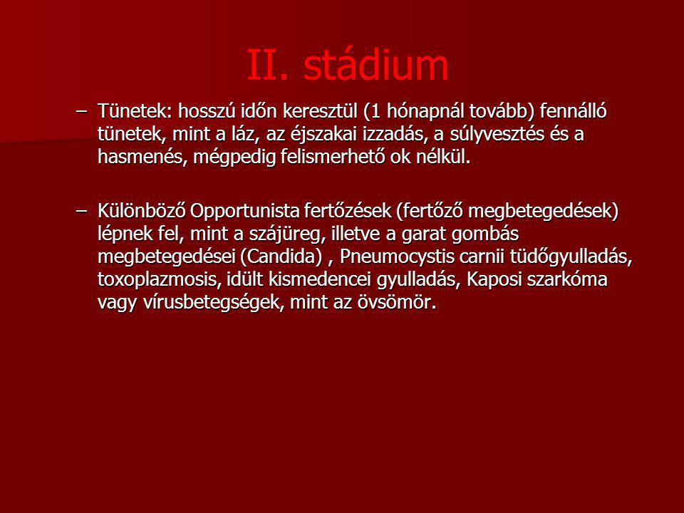 II. stádium