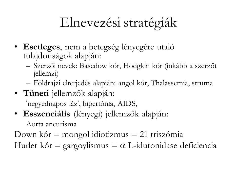 Elnevezési stratégiák