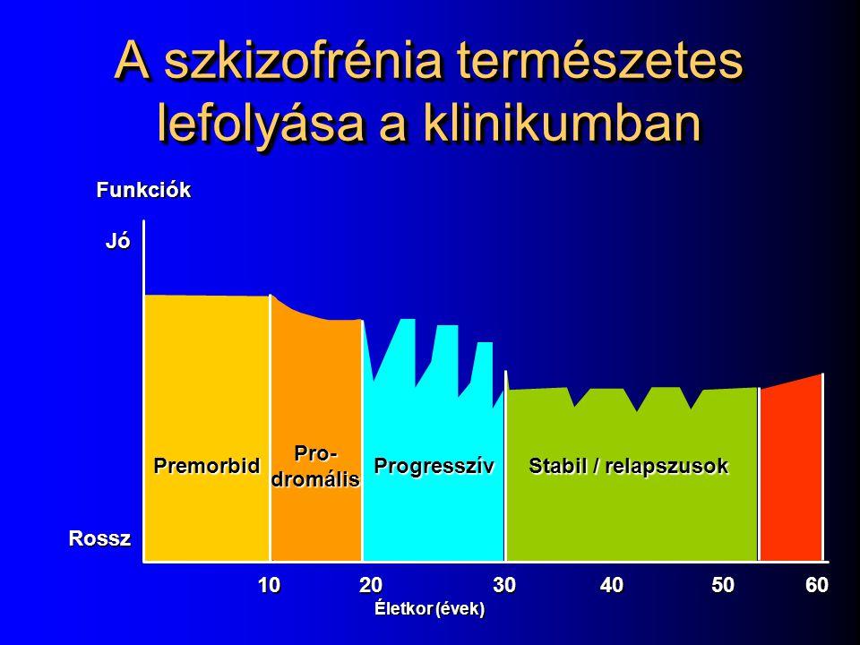 A szkizofrénia természetes lefolyása a klinikumban