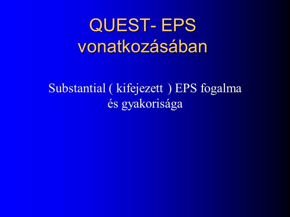 QUEST- EPS vonatkozásában