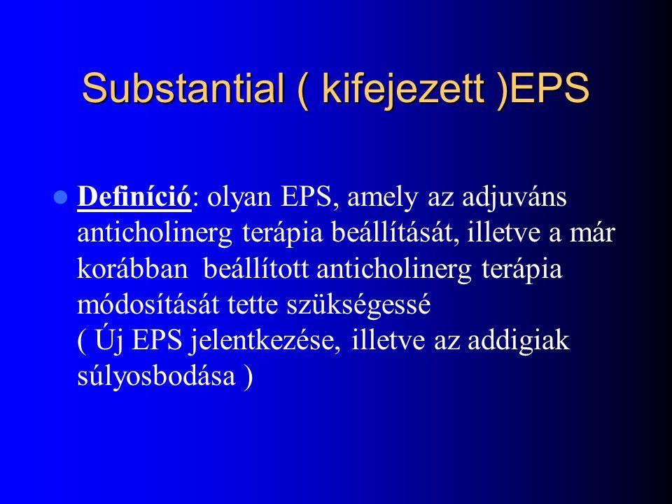 Substantial ( kifejezett )EPS