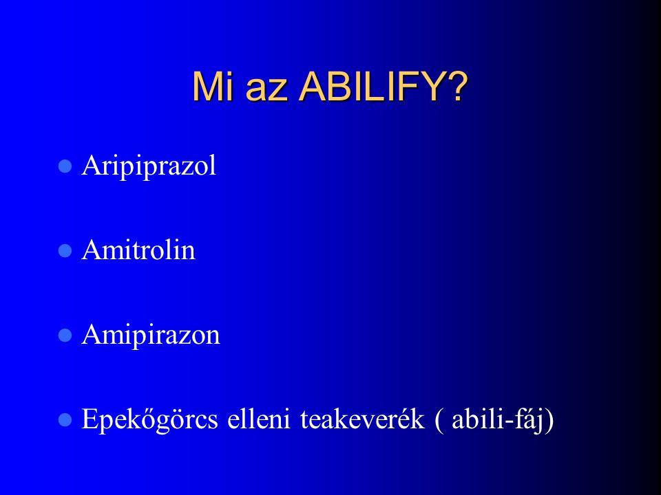 Mi az ABILIFY Aripiprazol Amitrolin Amipirazon