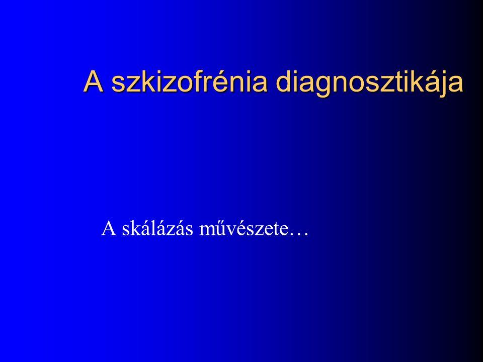 A szkizofrénia diagnosztikája
