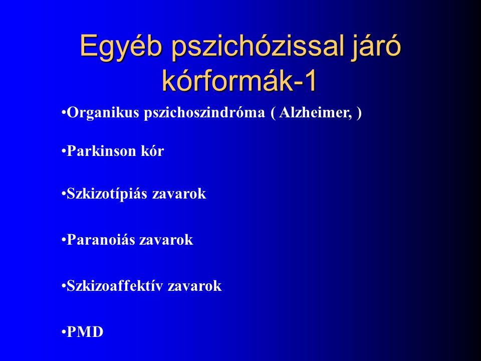 Egyéb pszichózissal járó kórformák-1