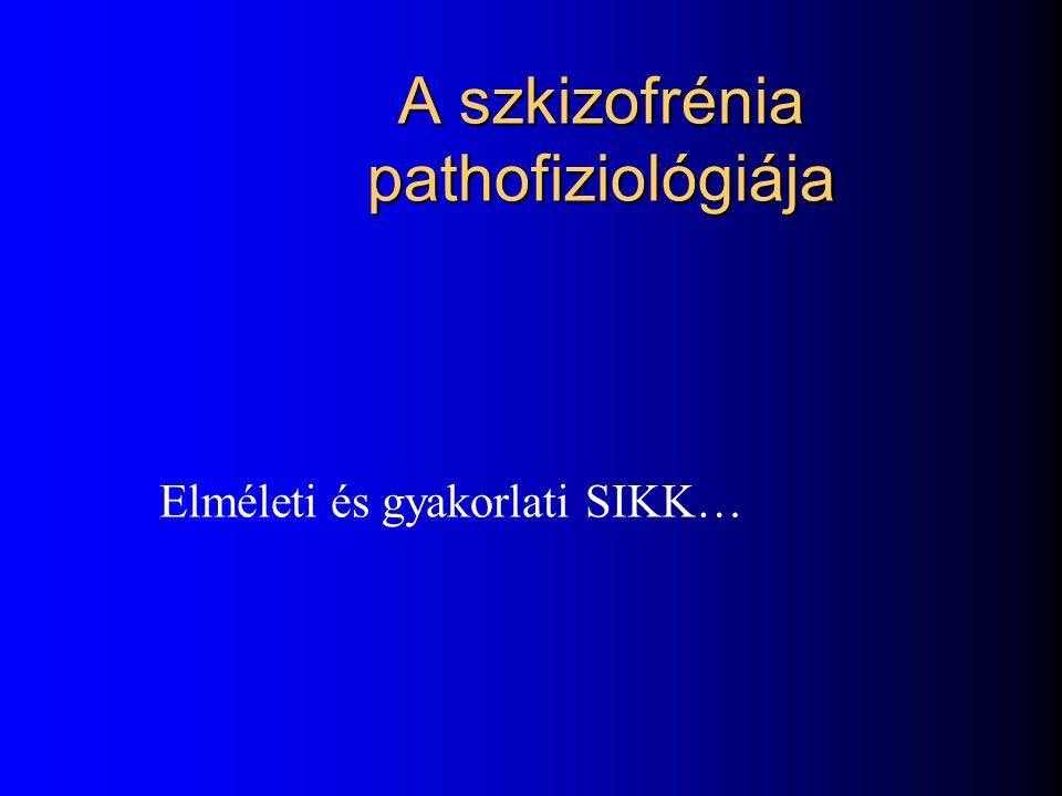 A szkizofrénia pathofiziológiája