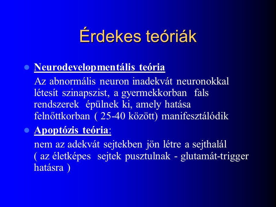 Érdekes teóriák Neurodevelopmentális teória