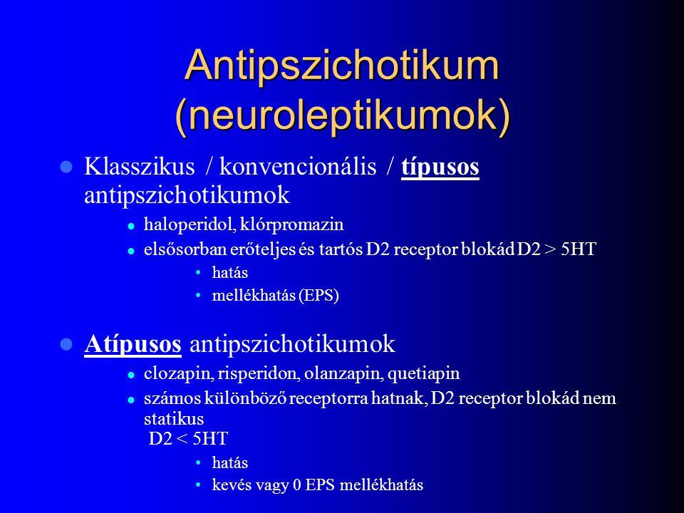 Antipszichotikum (neuroleptikumok)