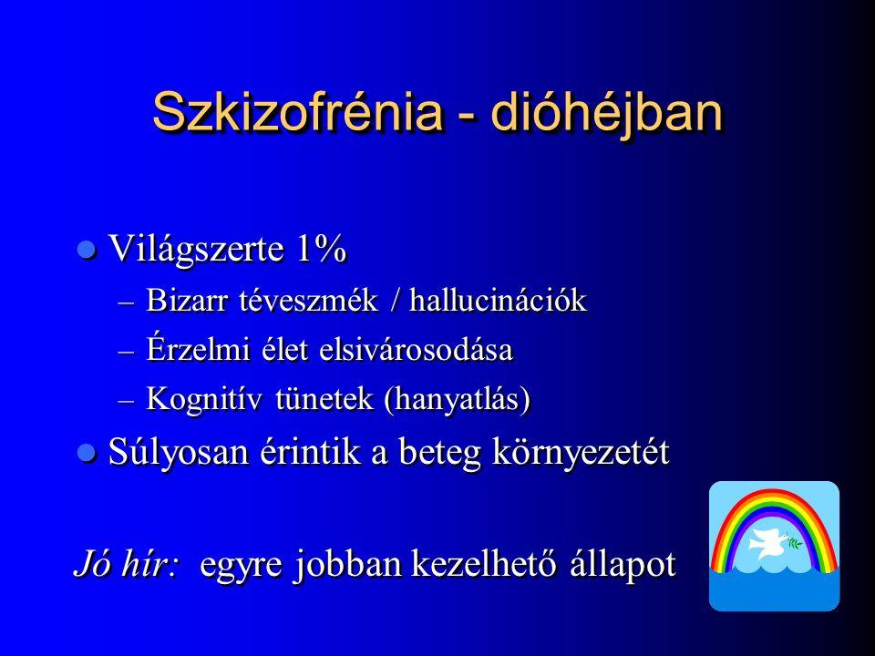 Szkizofrénia - dióhéjban