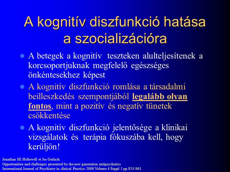 A kognitív diszfunkció hatása a szocializációra