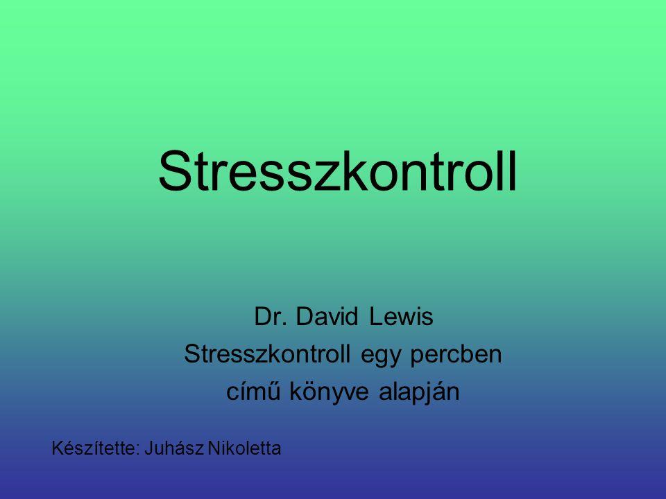 Stresszkontroll egy percben