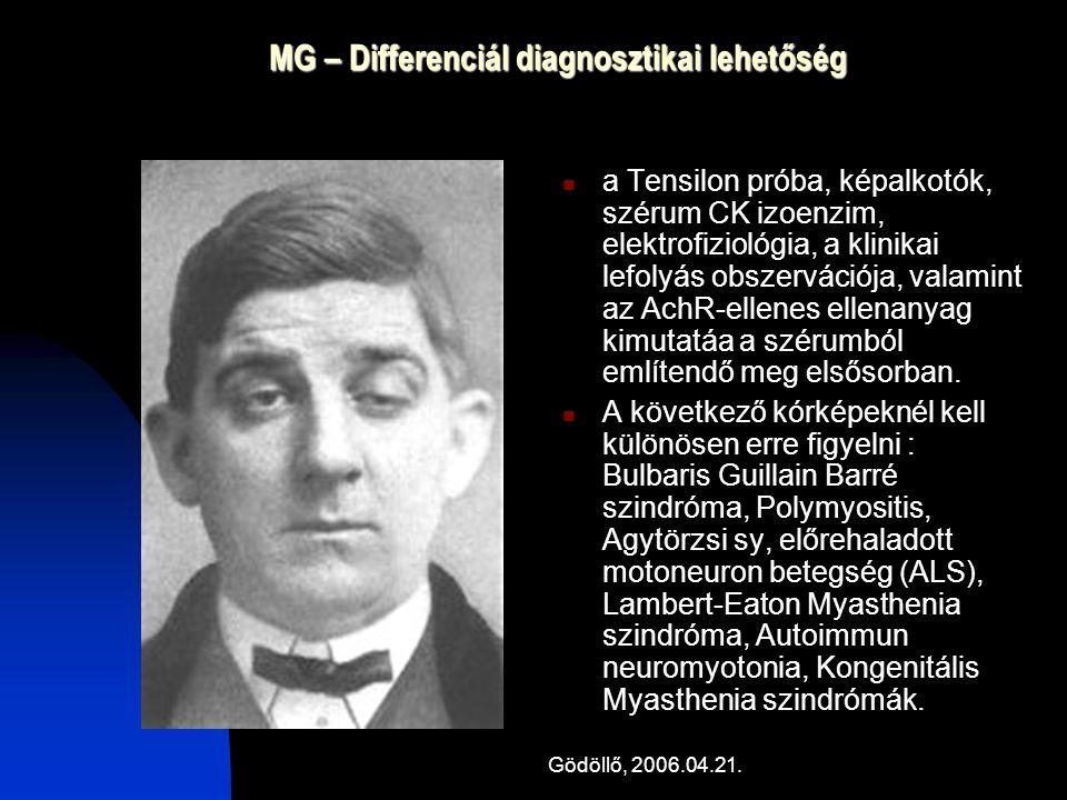 MG – Differenciál diagnosztikai lehetőség