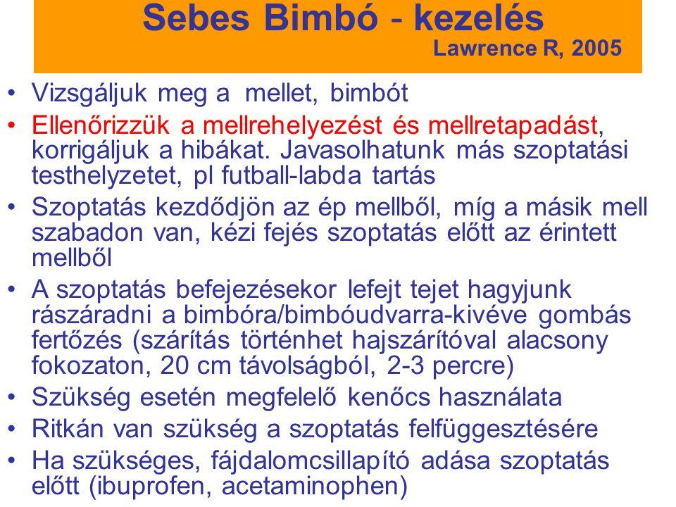 Sebes Bimbó - kezelés Lawrence R, 2005