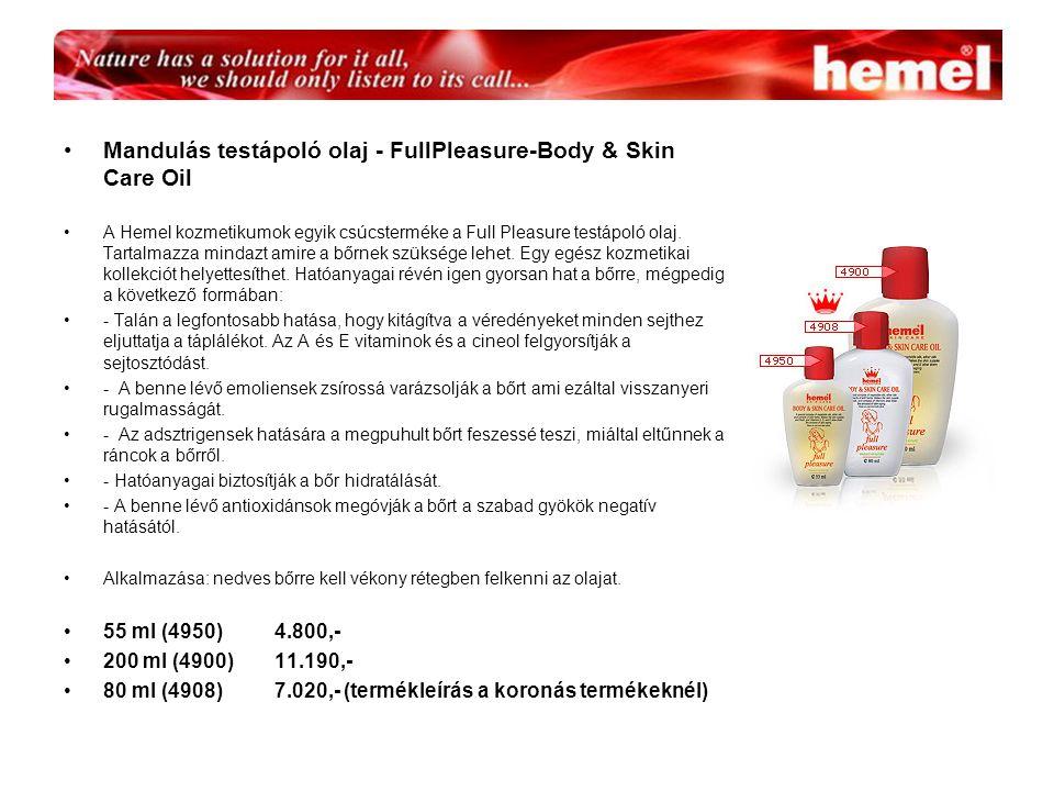 Mandulás testápoló olaj - FullPleasure-Body & Skin Care Oil