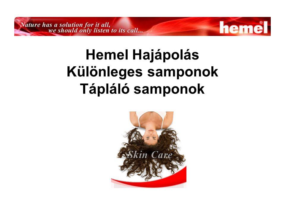 Hemel Hajápolás Különleges samponok Tápláló samponok