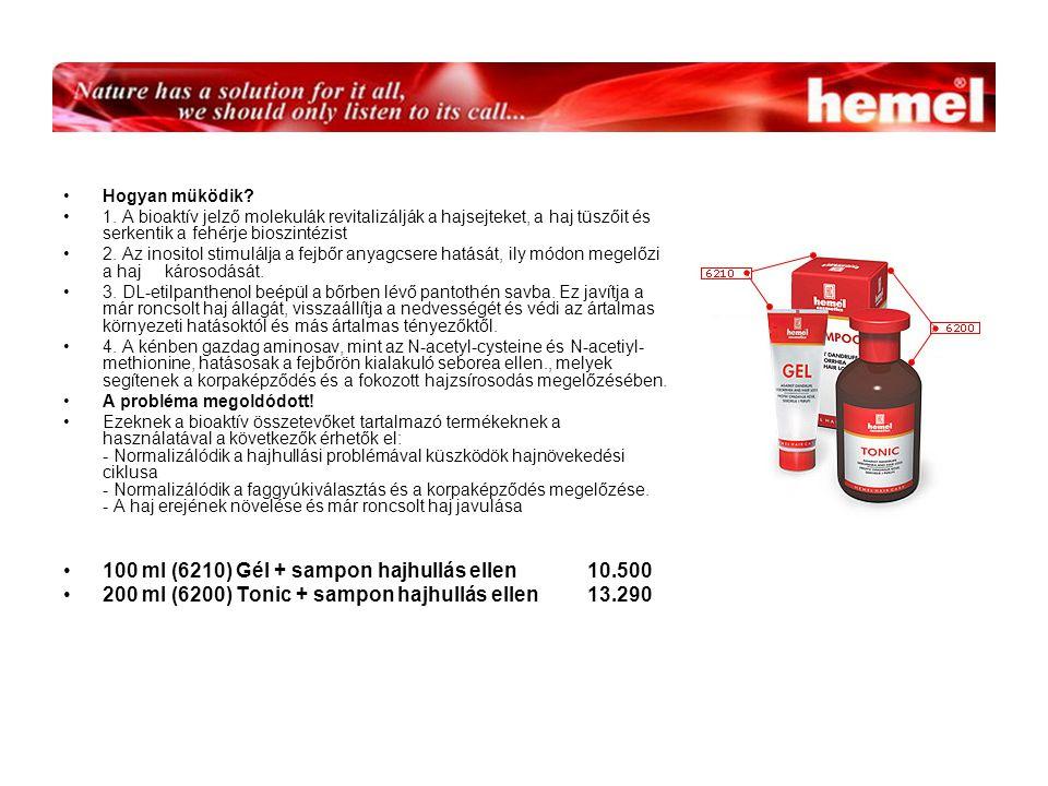 100 ml (6210) Gél + sampon hajhullás ellen 10.500