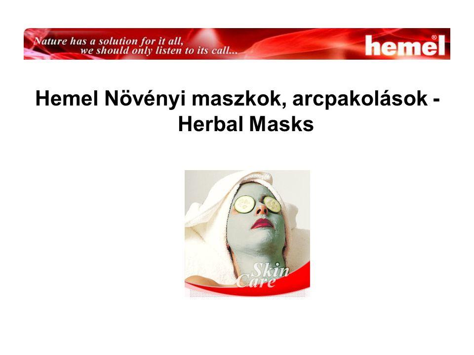 Hemel Növényi maszkok, arcpakolások - Herbal Masks
