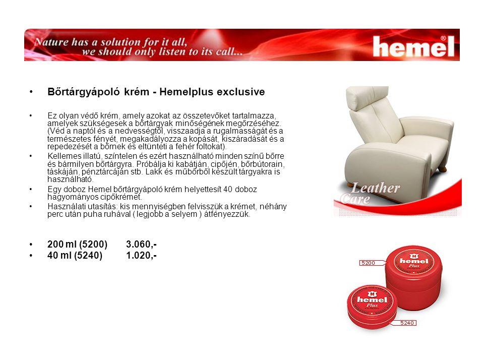 Bőrtárgyápoló krém - Hemelplus exclusive