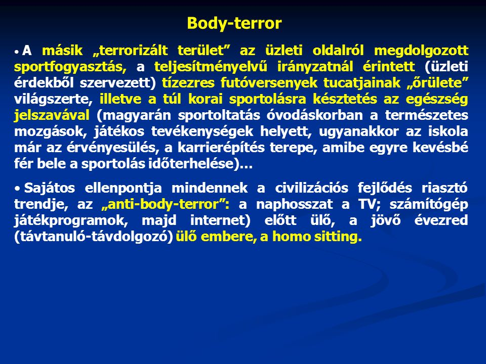 Body-terror