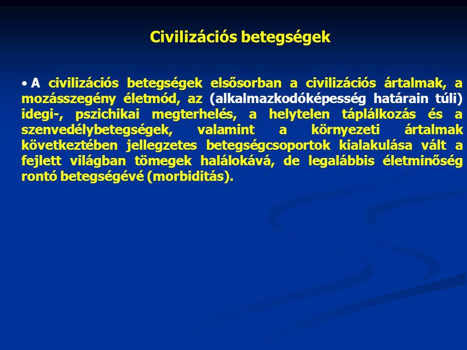 Civilizációs betegségek