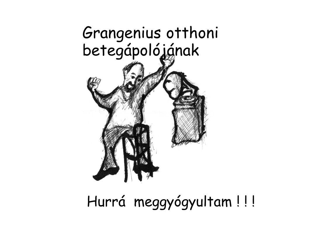 Grangenius otthoni betegápolójának
