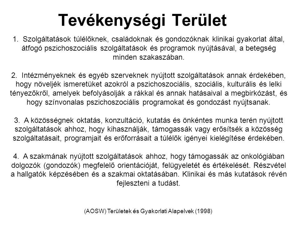 (AOSW) Területek és Gyakorlati Alapelvek (1998)