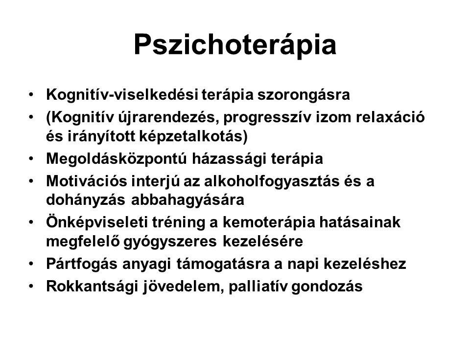 Pszichoterápia Kognitív-viselkedési terápia szorongásra
