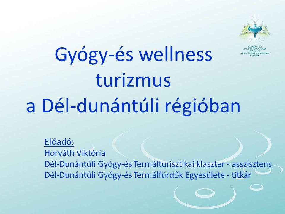 Gyógy-és wellness turizmus a Dél-dunántúli régióban