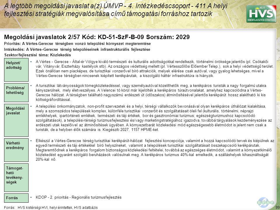 Megoldási javaslatok 2/57 Kód: KD-51-SzF-B-09 Sorszám: 2029