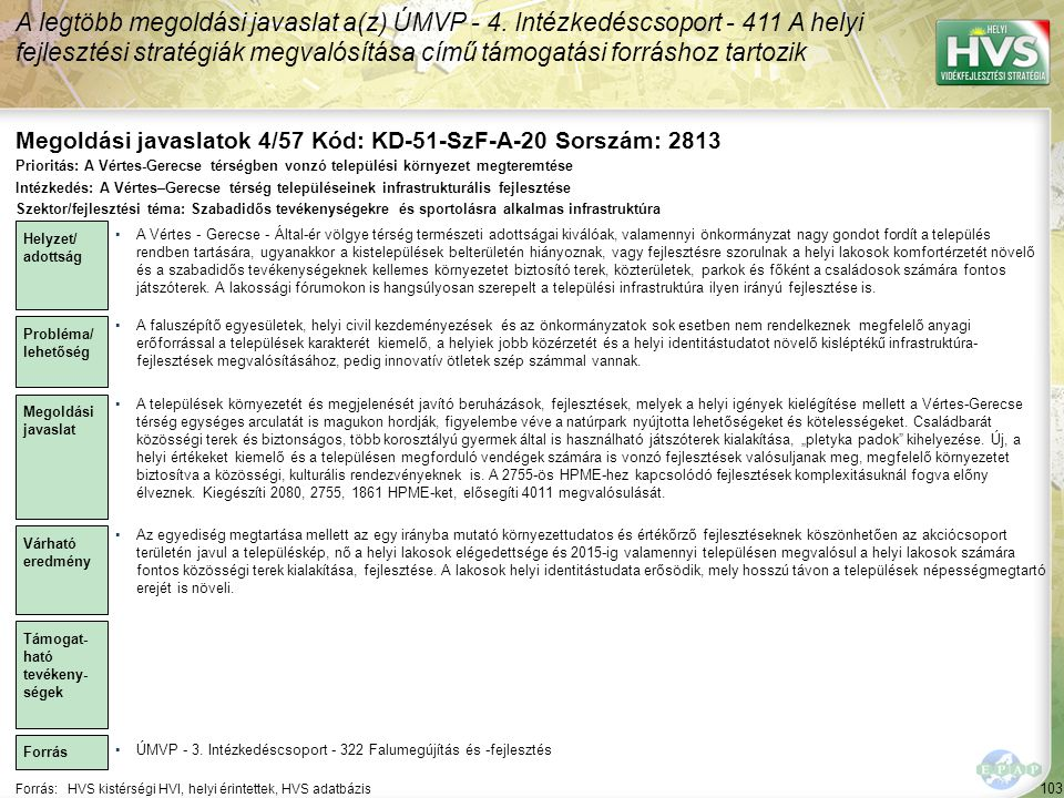 Megoldási javaslatok 4/57 Kód: KD-51-SzF-A-20 Sorszám: 2813