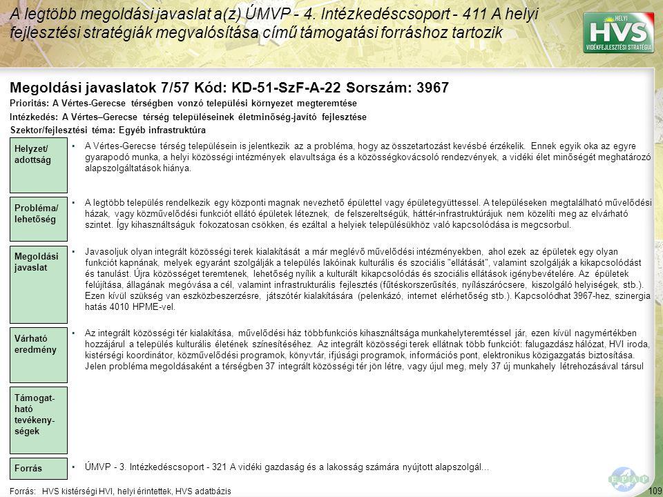 Megoldási javaslatok 7/57 Kód: KD-51-SzF-A-22 Sorszám: 3967