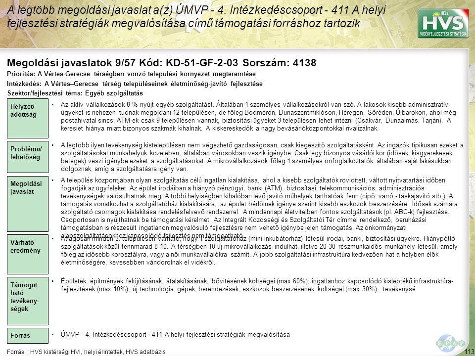 Megoldási javaslatok 9/57 Kód: KD-51-GF-2-03 Sorszám: 4138