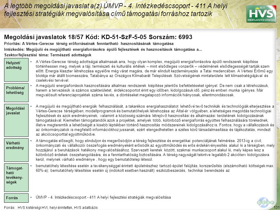 Megoldási javaslatok 18/57 Kód: KD-51-SzF-5-05 Sorszám: 6993